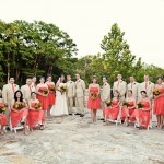 12 Bridesmaids and 12 Groomsmen