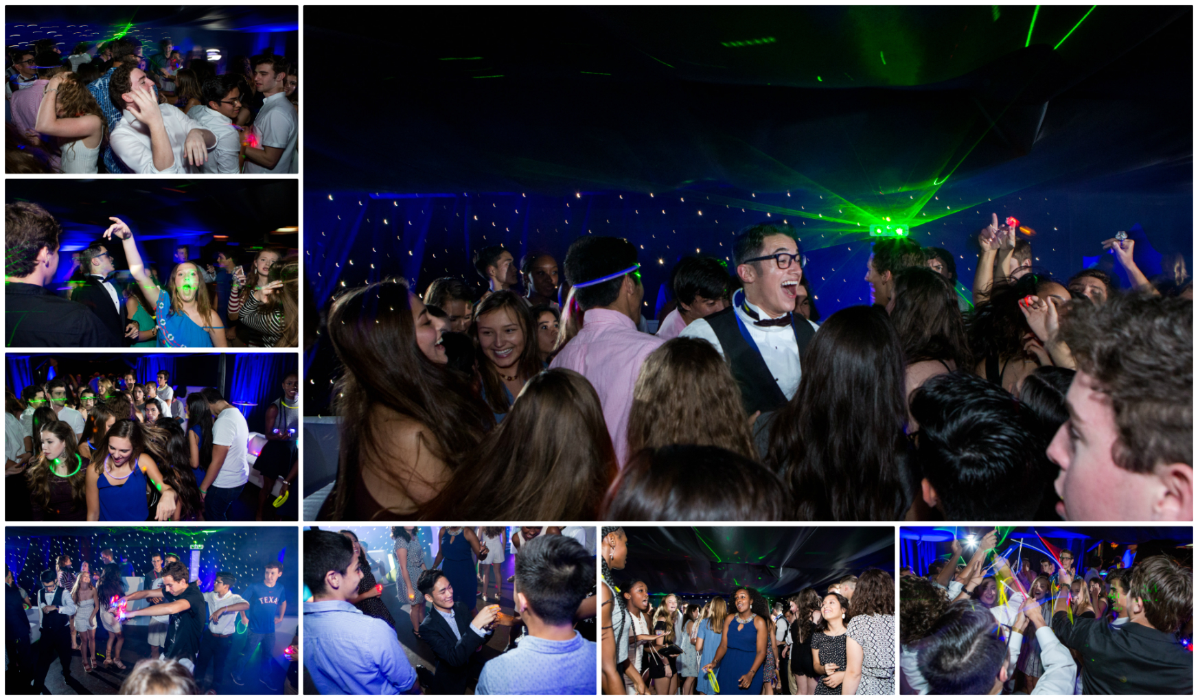 party-collage